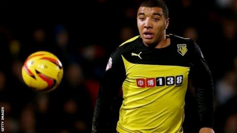 Watford goalscorer Troy Deeney