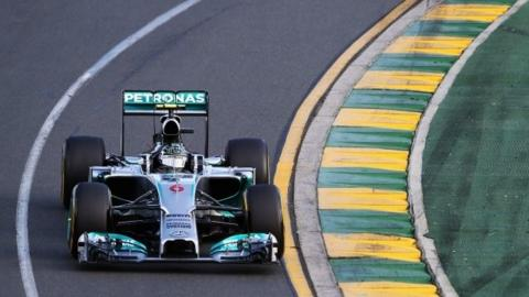 Nico Rosberg wins the Australian Grand Prix