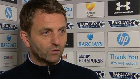 Tottenham's top four chances not great - Tim Sherwood