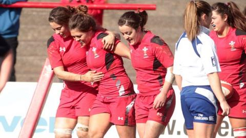 Wales women beat Scotland women