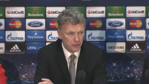 Manchester United boss David Moyes