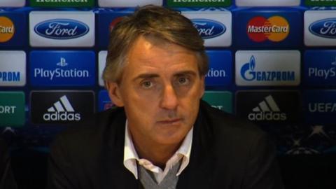Ex-Manchester City boss Roberto Mancini