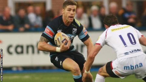 Cardiff Blues Gavin Evans