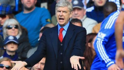 Chelsea 6-0 Arsenal: Wenger takes 'full responsibility' for thrashing
