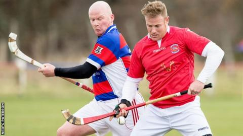 Kingussie reserves drew 4-4 with Inverness