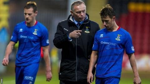 John Hughes got Inverness back to winning ways with a 1-0 win over Partick Thistle