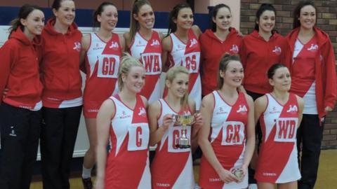 Winning Jersey team