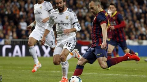 Andres Iniesta opens the scoring