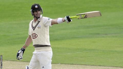 Surrey batsman Kevin Pietersen