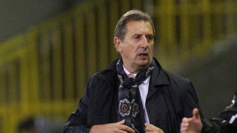 Belgian coach Georges Leekens
