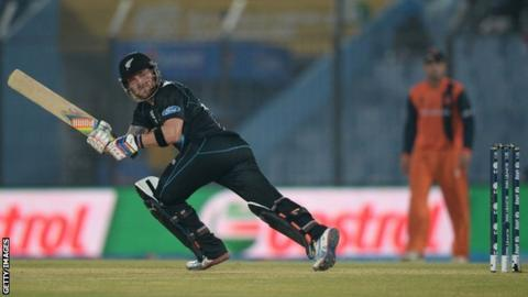 World Twenty20 2014: New Zealand ease past Netherlands - BBC Sport