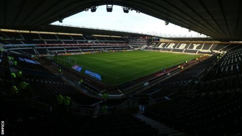 Derby County's iPro Stadium