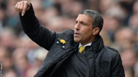 Chris Hughton, Norwich City manager