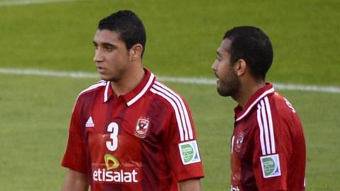 Al Ahly players