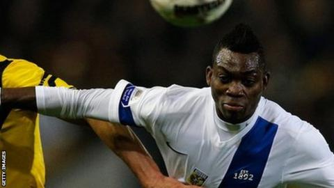 Christian Atsu is among a crop of Chelsea players on loan to Vitesse Arnhem
