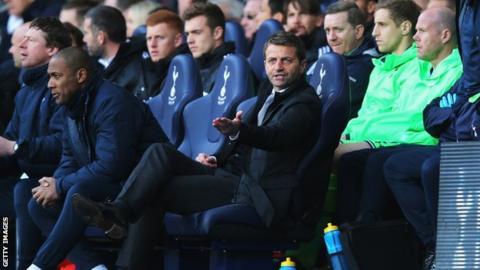 Tottenham boss Tim Sherwood