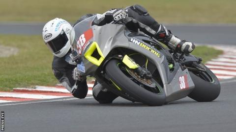 Cody Nally was a treble winner at Mondello Park