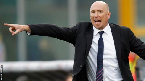 Catania sack Rolando Maran