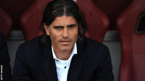 Sacked Cagliari boss Diego Lopez