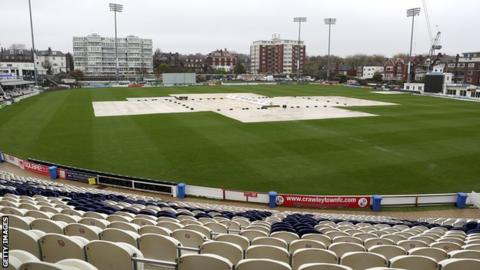 Covers on at Hove