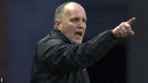 Montrose manager Stuart Garden