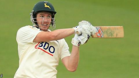 Nottinghamshire batsman Riki Wessels