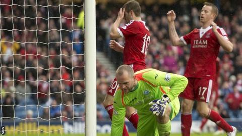 Aberdeen missed chances