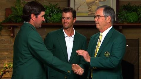 Masters 2014: Bubba Watson collects second Green Jacket