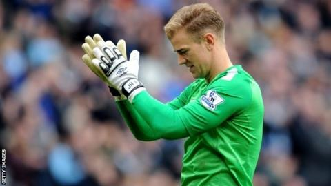Joe Hart was the only Englishman to start for Manchester City at Liverpool on Sunday