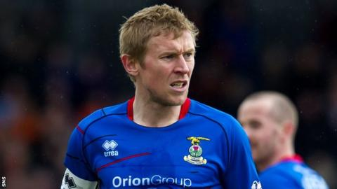 Inverness Caledonian Thistle captain Richie Foran