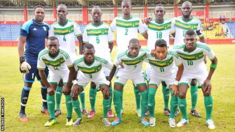 The Mauritania team