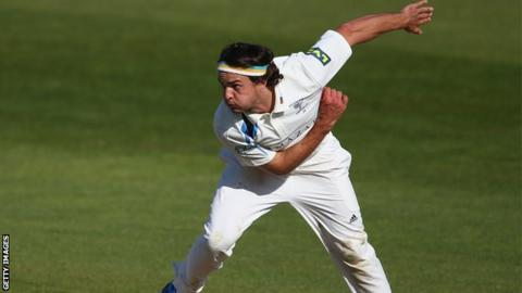 Yorkshire seamer Jack Brooks