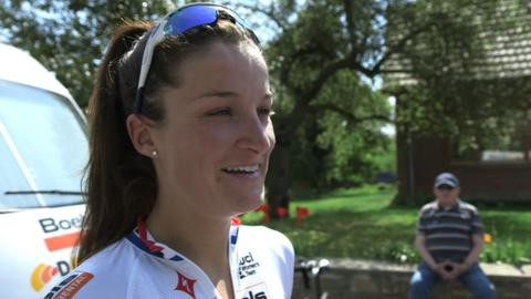 Women's World Cup: Lizzie Armitstead second at Fleche Wallone