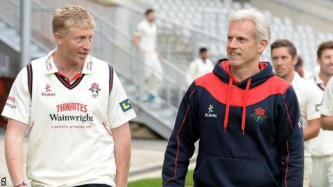 Glen Chapple and Peter Moores