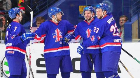 Great Britain Ice hockey team