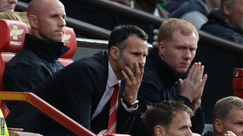 Ryan Giggs, Nicky Butt and Paul Scholes