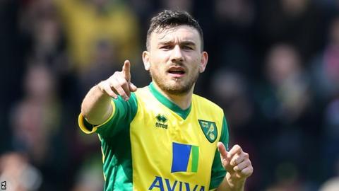 Scotland and Norwich City midfielder Robert Snodgrass