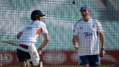 Alastair Cook and Graham Gooch