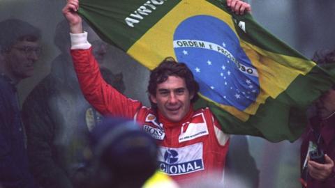 Ayrton Senna's five greatest races