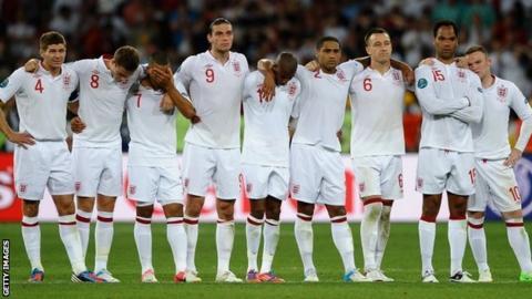 England at Euro 2012