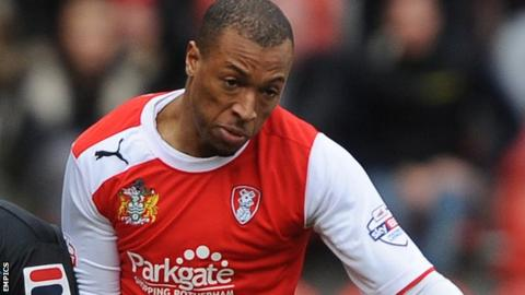 Wes Thomas scored twice against Swindon Town.