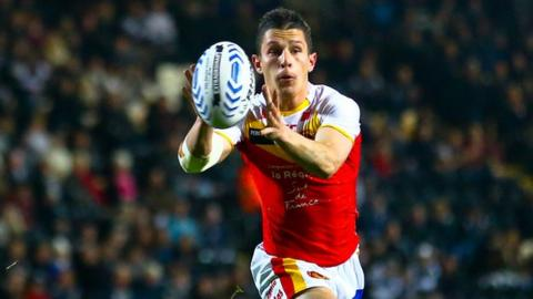 Catalan Dragons full-back Morgan Escare