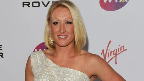 Elena Baltacha arrives at the WTA Tour Pre-Wimbledon Party at The Roof Gardens, Kensington on June 16, 2011 in London, England.