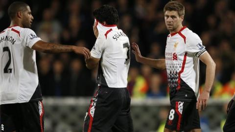 Liverpool dejected after draw at Crystal Palace