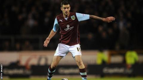 Burnley defender David Edgar