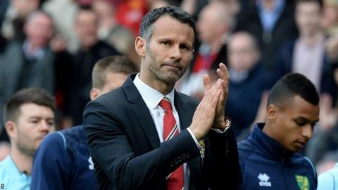 Manchester United interim manager Ryan Giggs