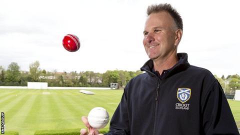 Scotland head coach Grant Bradburn