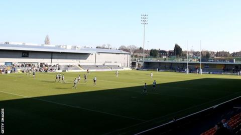 London Broncos playing at The Hive