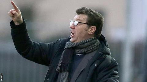Derry City manager Roddy Collins
