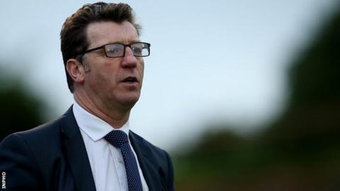 Roddy Collins' brief reign as Derry City manager has come to an end